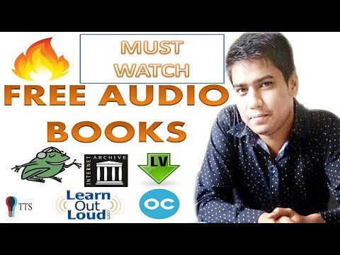 Top Five Websites for Download Free Audio Books
