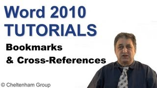 Word 2010 Tutorial | Bookmarks & Cross-References