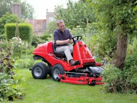 The Countax X Series Out Front Mower Youtube