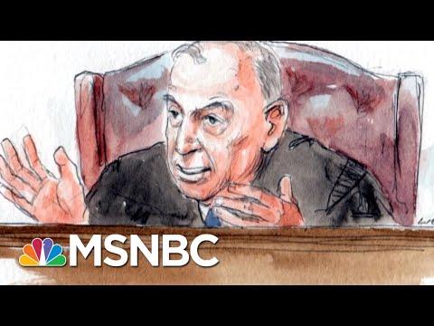 Robert Mueller\'s Prosecutors May Save Gates For Second Paul Manafort Trial | Rachel Maddow | MSNBC