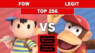Genesis 6 - FOW (Ness) Vs. ONCE | Legit (Diddy Kong) Top 256 - Smash Ultimate