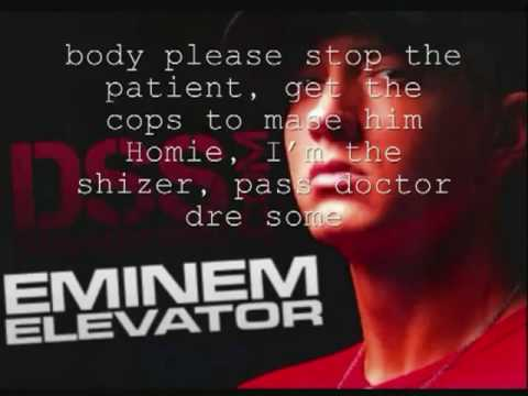 Elevator-Eminem + Lyrics