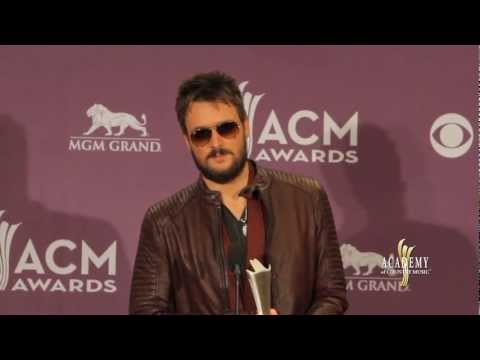 2013 ACM Awards Press Room - Eric Church