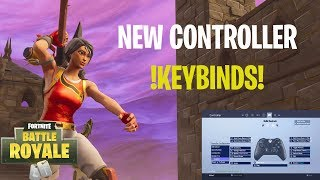 NEW CONTROLLER KEYBINDS!!!- Fortnite Battle Royale Gameplay - Terka