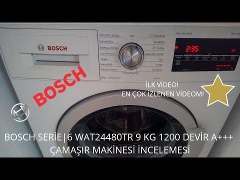 BOSCH WAT24480TR 9KG 1200 DEVİR ÇAMAŞIR MAKİNESİ TANITIMI