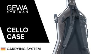GEWA Air Cello-Etui Tragesystem (GER)