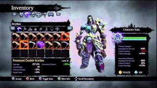 Darksiders 2 ・TGD ・Weapons Tips/Stats/Gear