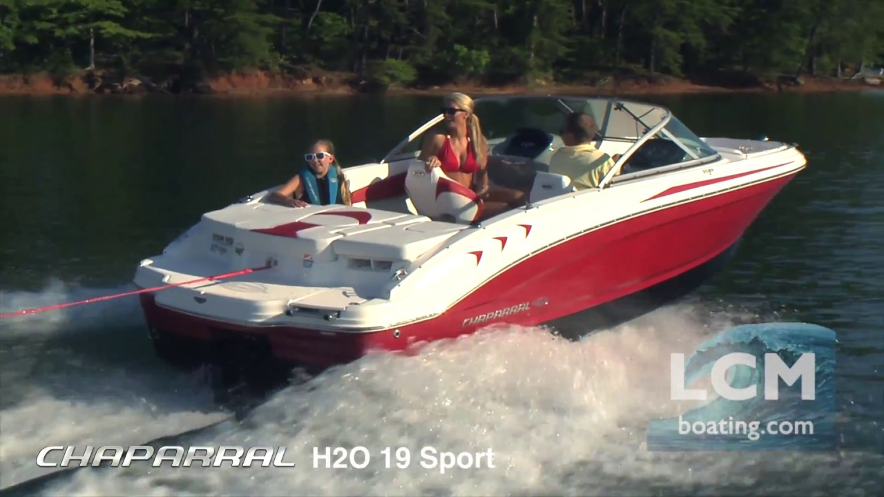 chaparral boats h2o 19 sport bowrider youtube. Black Bedroom Furniture Sets. Home Design Ideas