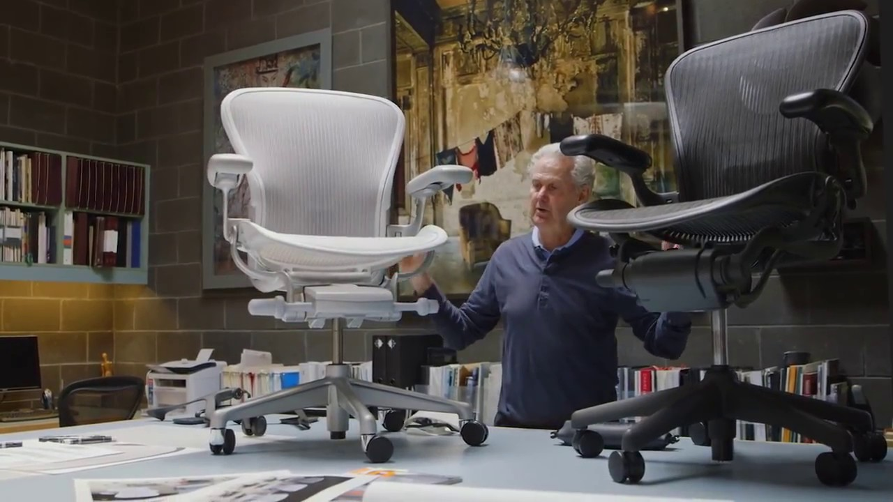 The New Aeron Chair Aeron Remastered