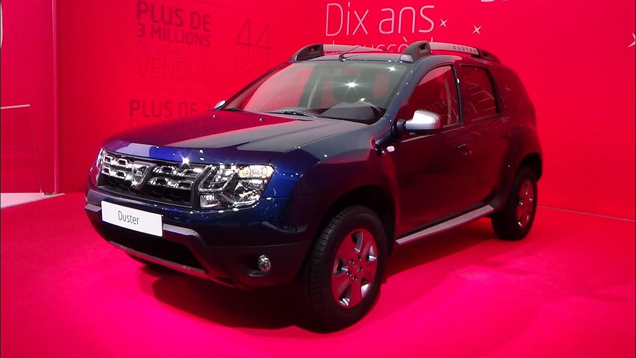 2016 dacia duster 4wd geneva motor show 2015 youtube. Black Bedroom Furniture Sets. Home Design Ideas