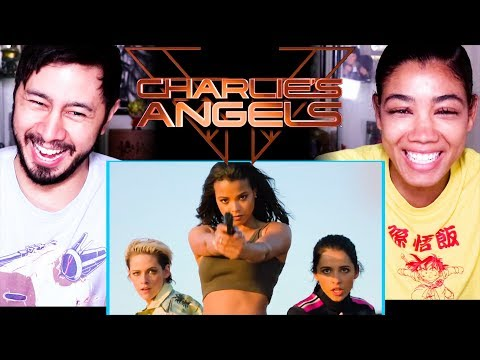 CHARLIES ANGELS | Kristen Stewart | Naomi Scott | Trailer Reaction!