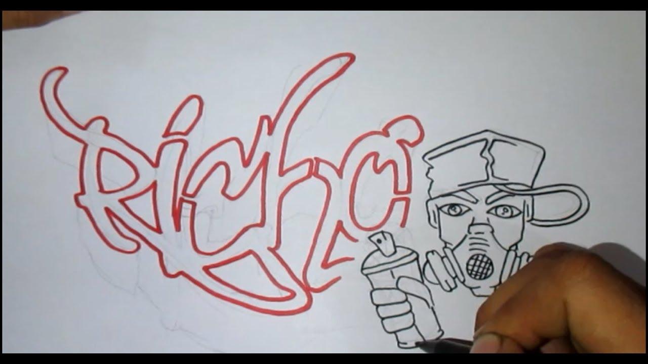 Request Graffiti Nama Richo