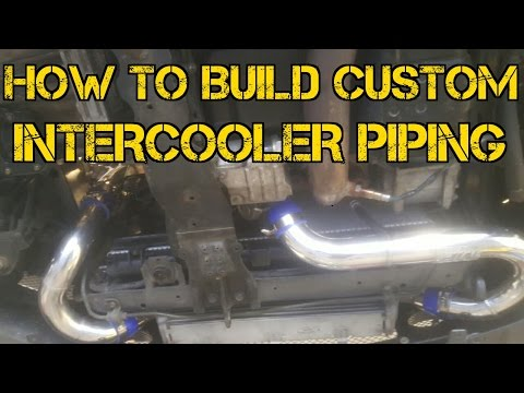 TFS: How to Build Custom Intercooler Piping #TFSBoostFab