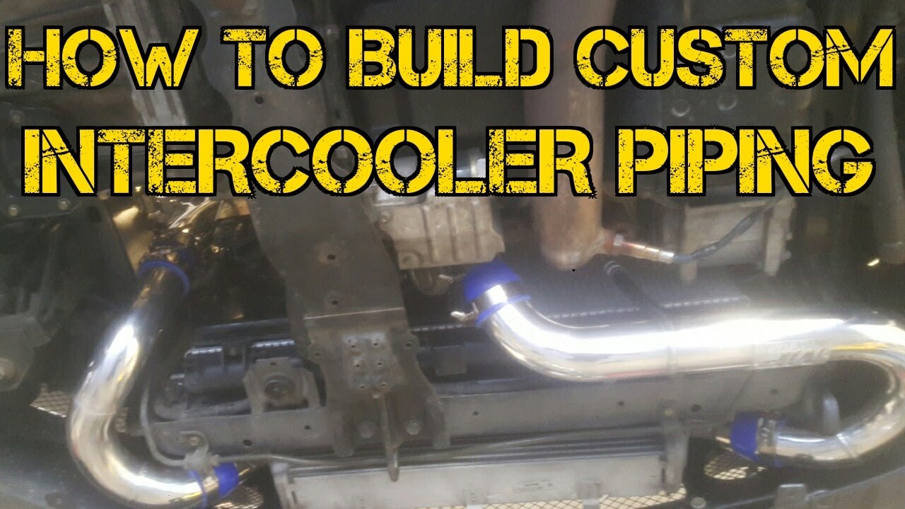 tfs how to build custom intercooler piping tfsboostfab youtube rh youtube com