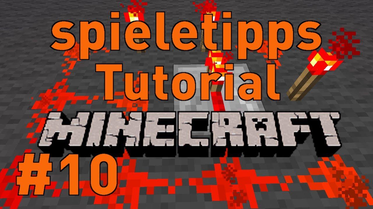 Minecraft Tutorial 10 Deutsch Hd Falltur Und Zaun Tor Youtube