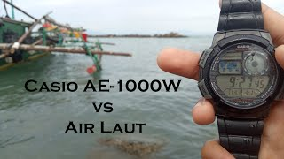 Casio AE-1000W Test Dengan Air…