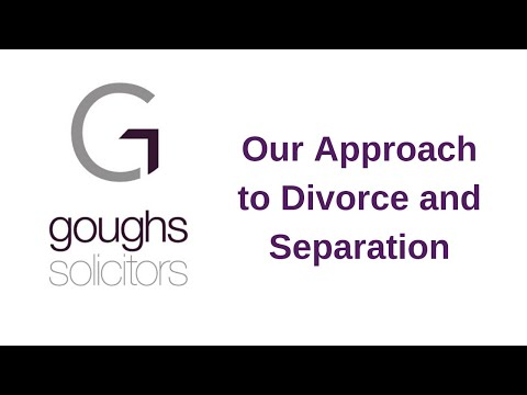 Goughs approach to divorce & separation