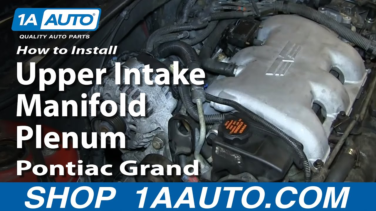 How To Install Replace Fuel Injector Gm 34l V6 Pontiac Grand Am 94 Gmc 5 7l Engine Diagram Olds Alero