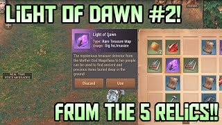 Opening Light of Dawn #2!! Obtained From the 5 Relics | Crusaders of Light
