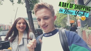 COUPLES SHOPPING IN NEW YORK | THE FINAL NYC VLOG | Jack Joseph