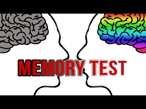 Memory Test: How Good is Your Memory?