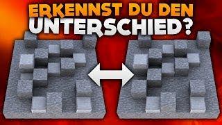 ERKENNST DU DEN UNTERSCHIED? | Minecraft Hide and Seek