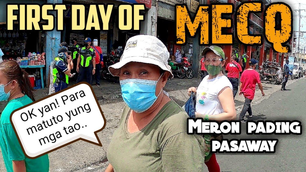 Unang araw ng MECQ hinuli ang mga lumabag   Quezon City Update