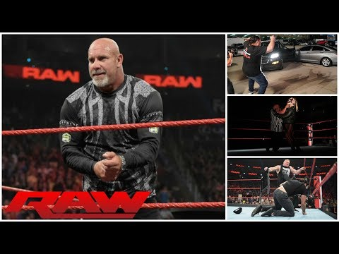 GOLDBERG Challenges Dolph Ziggler || Mystery Driver Hits Roman Reigns || WWE RAW 8/5/19 REVIEW