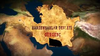 Turkic Empires and Capitals (HD)