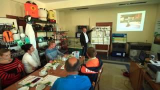 Rolnik na szkoleniu Stosowanie środków ochrony roślin - MODR Karniowice