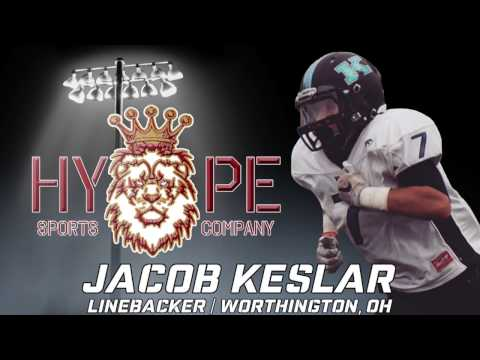 Jacob Keslar Football Highlights | Worthington Kilbourne High School