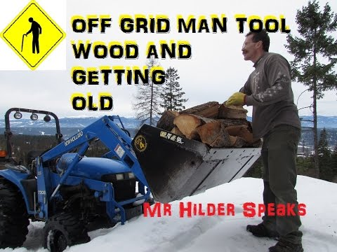 MAN TOYS  WOOD AND GETTING OLD!