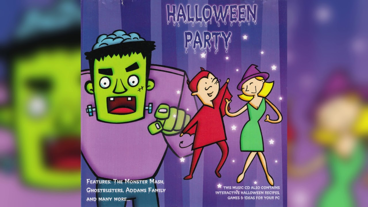 Halloween 2020 Cdrip Various Artists   Halloween Party (CD RIP)   YouTube