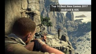 Top 10  ANDROID/IOS FPS Games 2017 | Best OFFLINE ANDROID/IOS FPS Games 2017 ( Free Games )