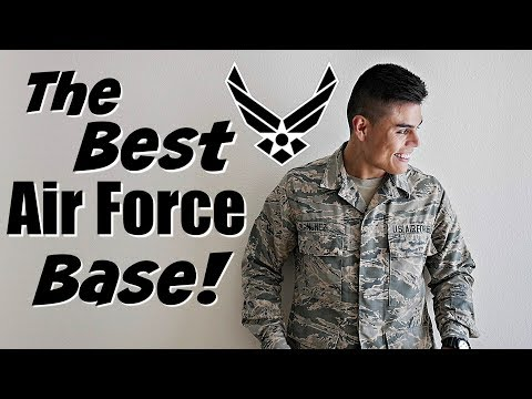 THE BEST AIR FORCE DUTY STATION