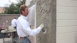 Teaching instructions for Stucco textures finishes and or patterns