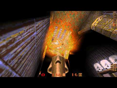 Quake Mission Pack 1 Scourge of Armagon - 10 The Crypt - All Secrets - 1080p 60f |