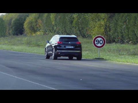 Reconnaissance des panneaux | SUV PEUGEOT 3008
