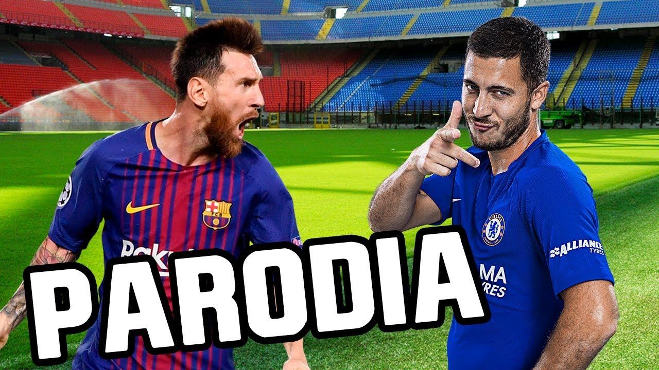 Canción Barcelona - Chelsea 3-0 (Parodia Nicky Jam x J. Balvin - X (EQUIS) )