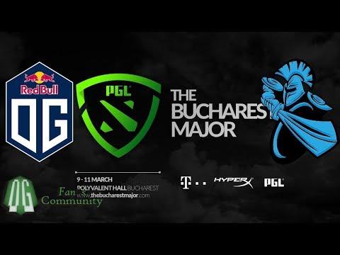 OG vs Newbee -  Game 1 - The Bucharest Major - Group Stage