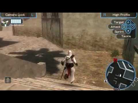Assassin S Creed Bloodlines Limassol Marketplace Psp Gameplay Youtube
