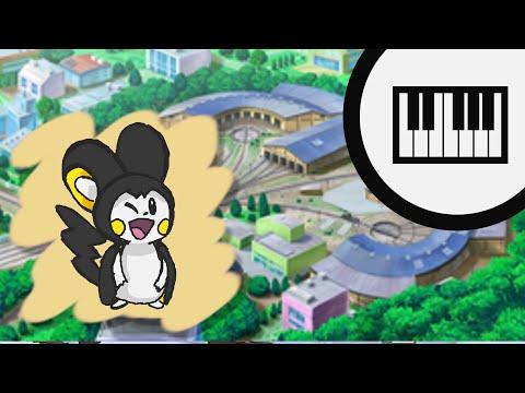 Pokémon X & Y / Black & White - Vaniville Town, Anville Town (Piano)