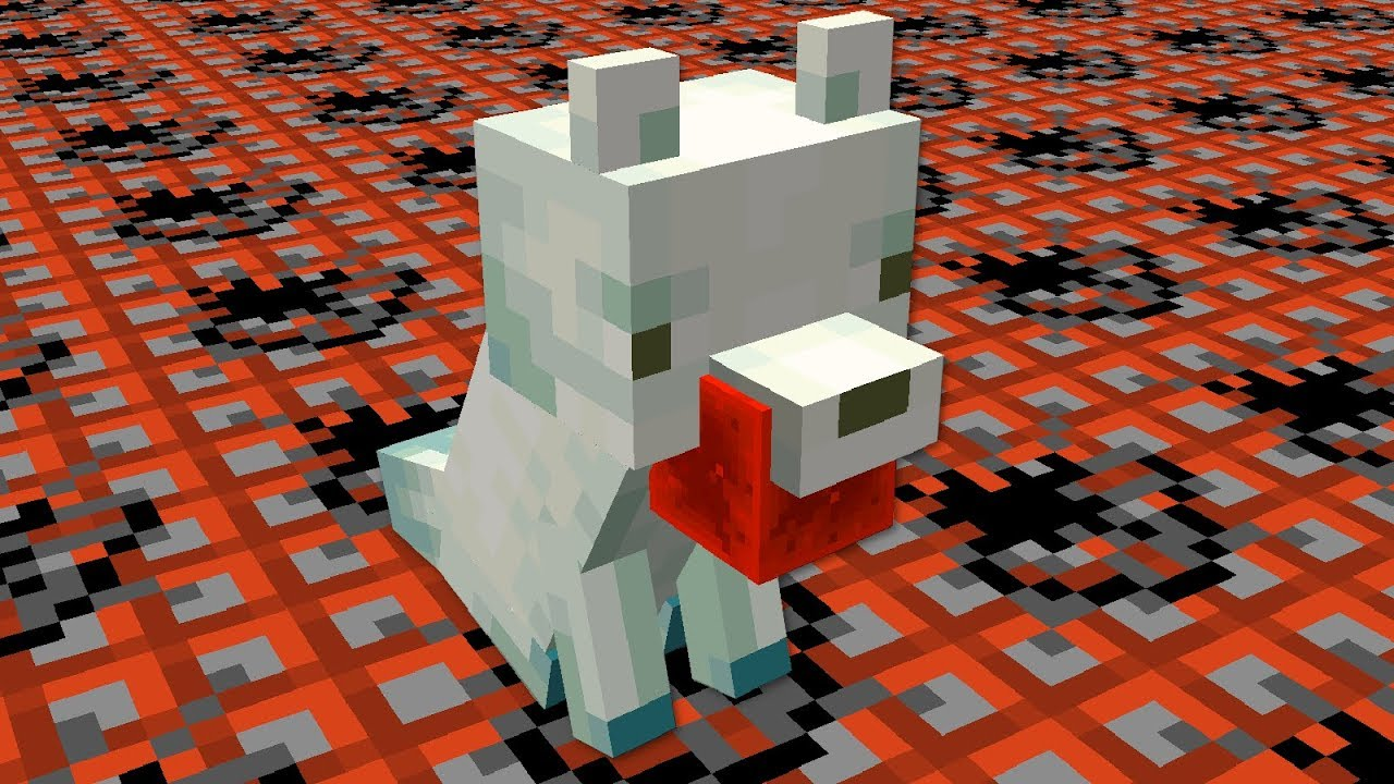 Suicidal Foxes in Minecraft
