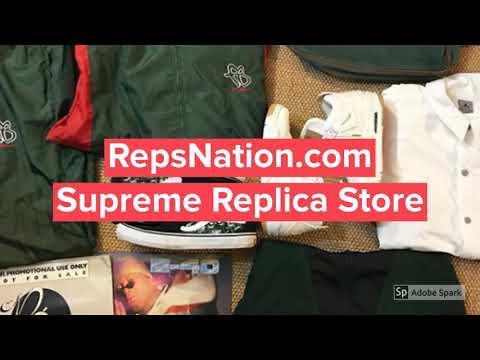 RepsNation - Supreme Replica Store - YouTube