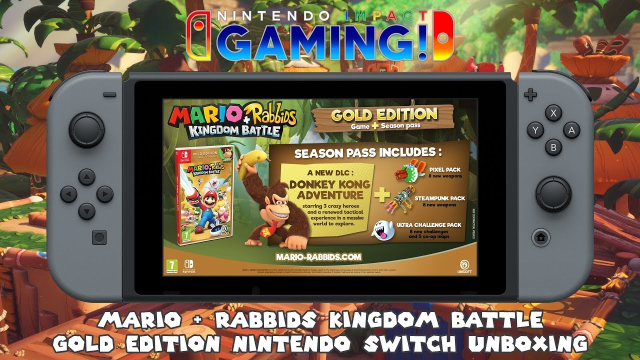 mario rabbids kingdom battle gold edition review