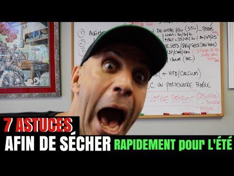 L'ÉTÉ EST LA ...7 ASTUCES afin de SÉCHER RAPIDEMENT pour LA PLAGE !!!