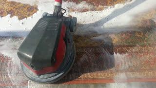 washing persian handmade silk carpet