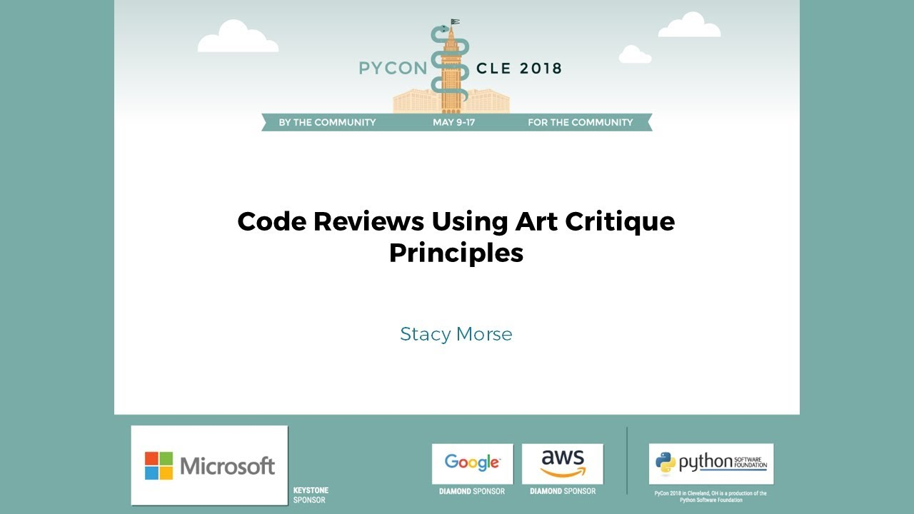 Image from Code Reviews Using Art Critique Principles
