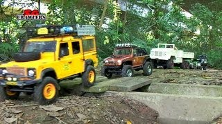 13 RC Trucks scale offroad 4x4 Adventures RC4WD Timberwolf D110 M923 Jeep Wrangler honcho dingo