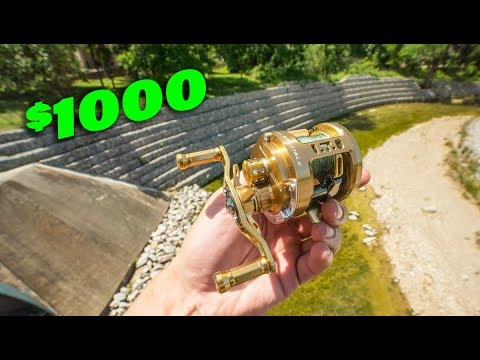 Is This $1000 Fishing Reel Worth It? -- (HYPER Casting Reel)